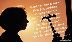 Parenting children with discipline