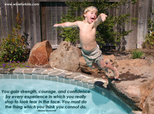 wisdom in children for overcoming fear