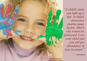 Raising Kids - A Child Innocence Is Magical
