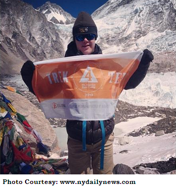 Eli Reimer Conquers Mount Everest despite being suffering from Down Syndrome